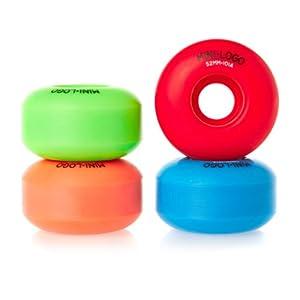 Buy Mini-Logo Skateboards C-Cut 52mm 101A Skateboard Wheel by Mini-Logo Skateboards