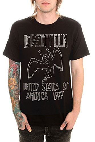 Led Zeppelin 1977 T-Shirt Size : Small