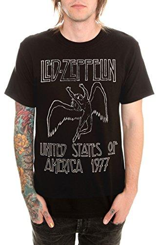 Led Zeppelin 1977 T-Shirt Size : X-Large