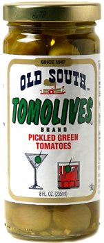 Old South Tomolives Pickled Green Tomatoes 8 Oz Jar 3