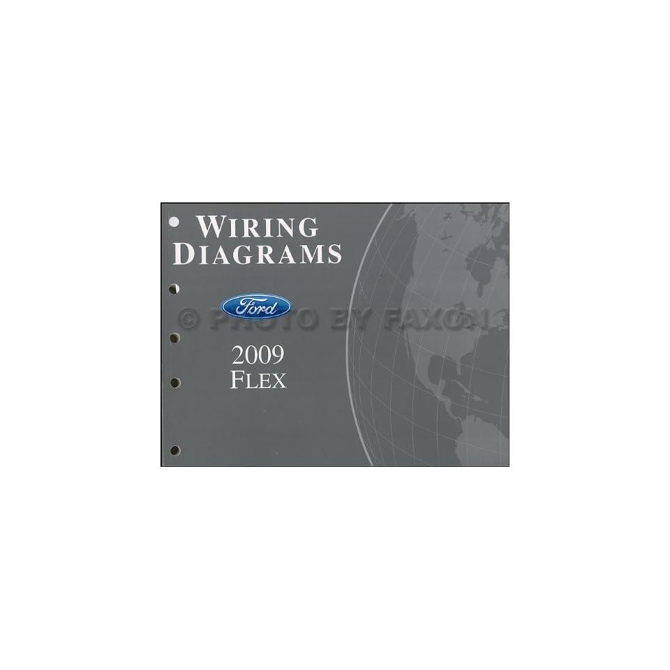 2009 Ford Flex Wiring Diagram Manual Original Ford Books
