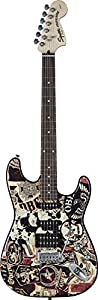 Squier by Fender OBEY Graphic Stratocaster, Collage