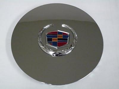 Otis Inc LA Cadillac Escalade Chrome Wheel Center Cap with Chrome Wreath and Crest