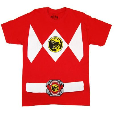 Power Rangers Costume Red Ranger T-shirt