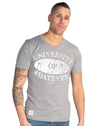 UOW Carnage Men's T-shirt Grey Tees online XLarge tee crew neck round neck mens t shirts