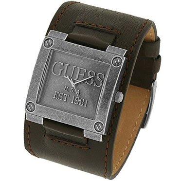 bracelet cuir large montre homme