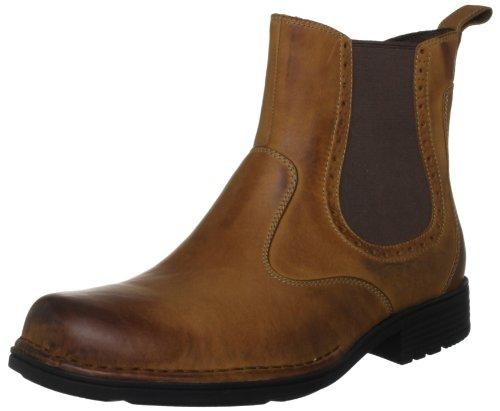 Rockport Men's Tucker Creek Pull Boot,Dark Tan,6.5 W US