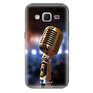 Mozine Singing Star printed mobile back cover for Samsung core prime