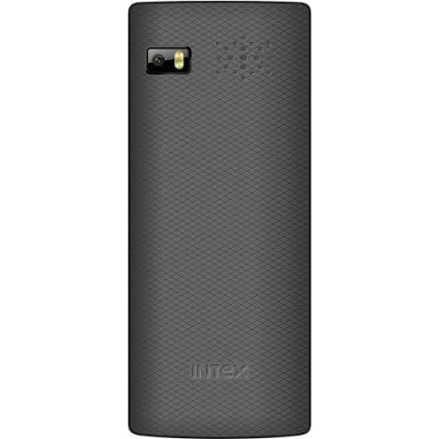 Intex SPY 7 with Secret Side Camera (Dual Sim) (Silver & Black)