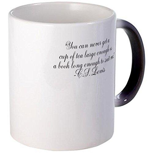 CafePress - CS Lewis Tea Books Mugs - Unique Coffee Mug, 11oz Coffee Cup (Cs Lewis Quote Mug compare prices)