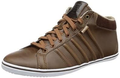 K-Swiss Hof IV MID VNZ 03105-293-M, Herren Sneaker, Braun (Cowboy/Espresso/White), EU 41 (UK 7)