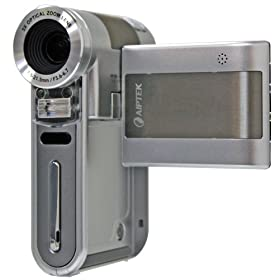 Aiptek A-HD Pro 1080P High Definition Camcorder (Silver)