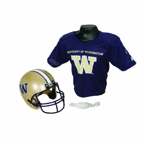 NCAA Washington Huskies Helmet and Jersey Set at Amazon.com