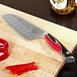 Guy Fieri Knuckle Sandwich Series Chopper Santoku Knife