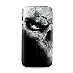 Motivatebox-Moto E1 (First Generation) cover-Predators eyes Polycarbonate 3D Hard case protective back cover. Premium Quality designer Printed 3D Matte finish hard case back cover.