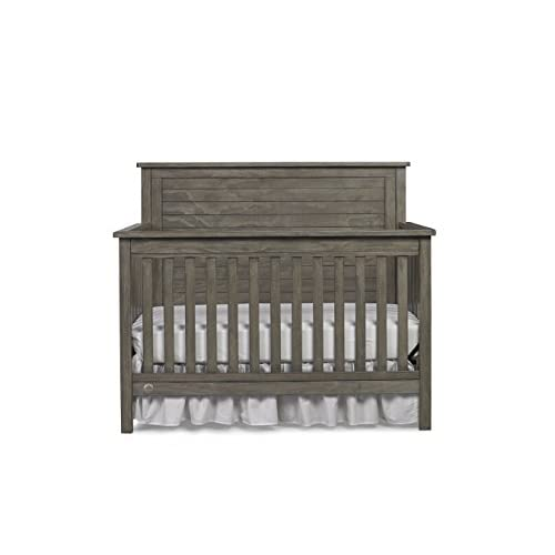 Fisher-Price Quinn 4-in-1 Convertible Crib, Vintage Grey