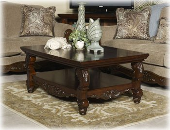 Cheap Dark Brown Round End Table – Signature Design by Ashley Furniture (T573-6)