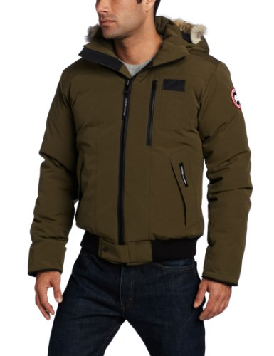 Canada Goose Men's Borden Bomber (Military Green, Small) (Canada Winter Jacket compare prices)