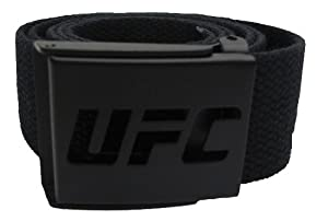 UFC Knock Out Web Belt, Black