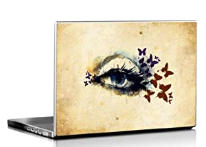 Seven Rays Abstarct Eye with Beauty Laptop Skin