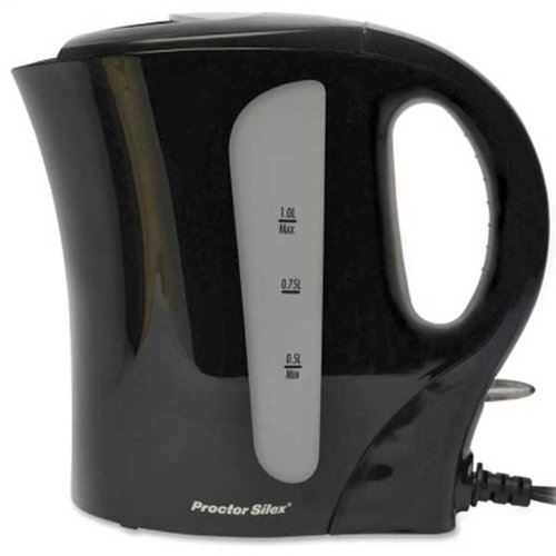 Proctor Silex Black Electric Water Kettle K2087