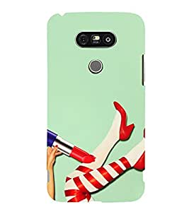 TEENAGER LEGS SYMBOLIZING A STYLISH STATEMENT 3D Hard Polycarbonate Designer Back Case Cover for LG G5:LG G5 Dual H860N with dual-SIM card slots