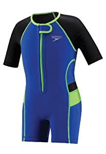 Speedo Kid's UV Thermal Suit, Blue, 6-6X