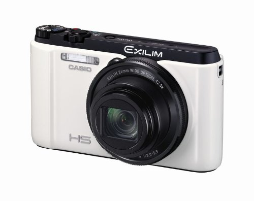 CASIO デジタルカメラ EXILIM EXFC400SWE 1610万画素 光学12.5倍ズーム EX-FC400SWE ホワイト