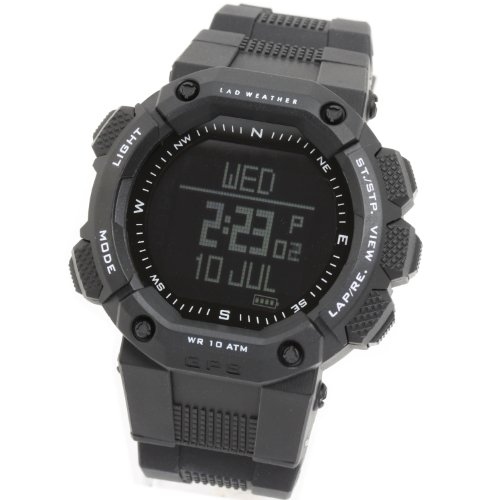 [Lad Weather] GPS Devices Goal Center Fee Track Operating Chronograph Out of doors Altimeter Virtual Compass Temperature Tempo Velocity Energy Distance Navi Snow Sports activities Watches