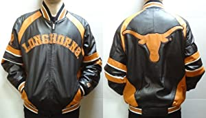 Leather University of Texas Longhorns Coat by NCAA