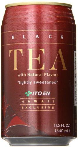 Ito En Black Tea, 11.5 Ounce (Pack Of 24)