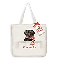 love my dog canvas tote bag 1 customer reviews