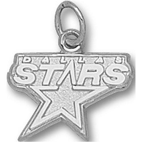 LogoArt Dallas Stars Sterling Silver Charm
