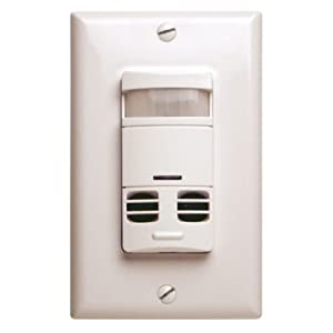 Cooper Controls Greengate 120-277-Volt Dual Tech-PIR Wall Switch Sensor with Neutral Wire from Cooper Controls