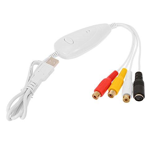 docooler ezcap 1568 USB Vidéo Capture Vidéo Convertisseur Recorder Convertir vidéo analogique Audio au Format Numérique pour Windows 7 8 10 Mac OS