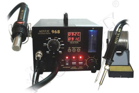 Buy Aoyue 968 SMD Digital Hot Air Rework Station