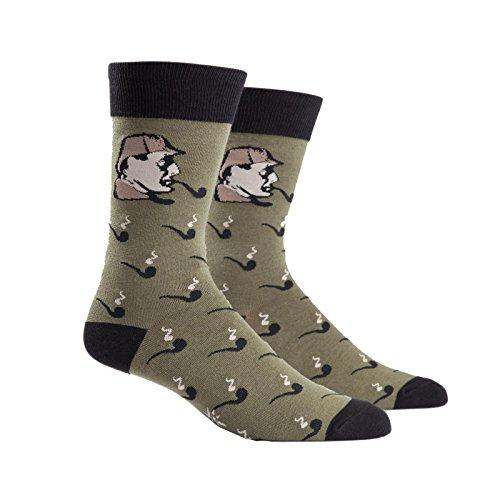 Sock It To Me Sherlock Mens Crew Socks - 1