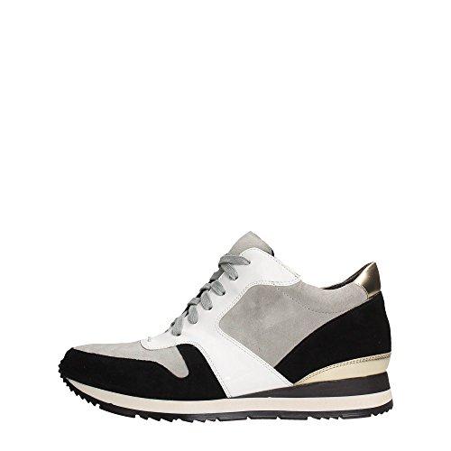 Luciano Barachini 3451C Sneakers Donna Crosta Perla/Nero/Bianco Perla/Nero/Bianco 41