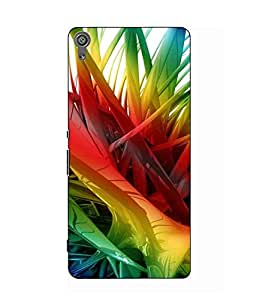 Case Cover Abstract Printed Colorful Hard Back Cover For Sony Xperia XA Ultra Dual