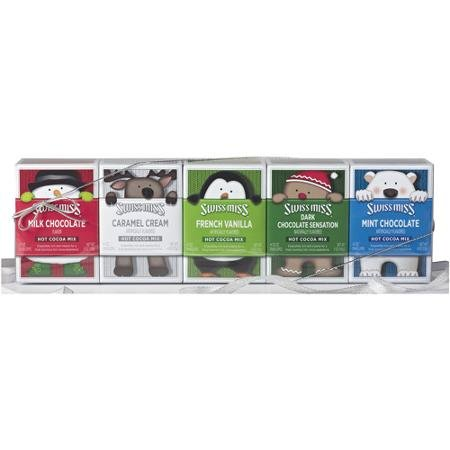 Swiss Miss Hot Cocoa Gift Set (5 Flavors) 4- Packs Each -