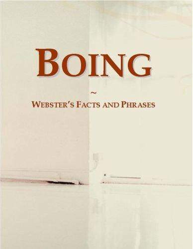 Boing: Webster's Facts and Phrases