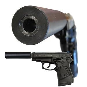 Fake Suppressor for Zoraki Model M925 Blank Gun/Starter Pistol