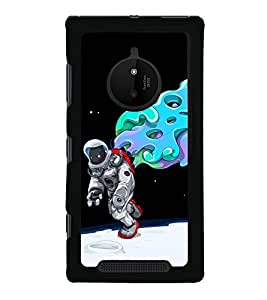 printtech Astronaut Abstract Space Back Case Cover for Nokia Lumia 830 RM-984
