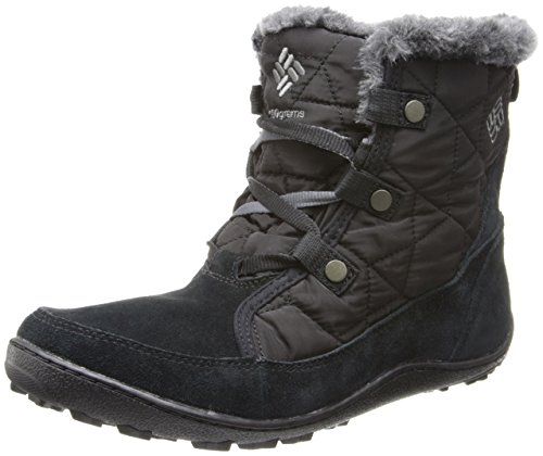 Columbia Women's Minx Shorty Omni-Heat Winter Boot,Black/Shale,8.5 M US (Columbia Shoes Women Winter compare prices)