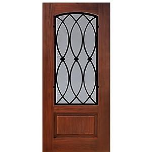 Fiberglass Door 1 Panel Arch Lite La Salle Glasscraft
