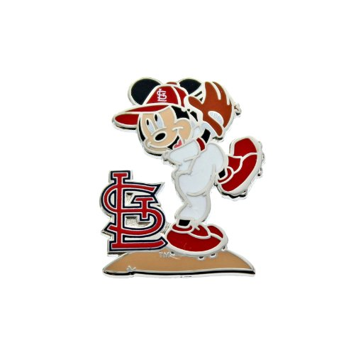 MLB St. Louis Cardinals Disney Mickey Wind Up Collectible Trading Pin at Amazon.com