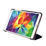 WAWO Creative Smart Tri-fold Cover Case for Samsung Galaxy Tab S 8.4-inch Tablet - Black