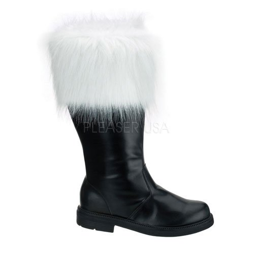 Santa Costume Boots With Fur Trim SALE PRICING NOW 100
