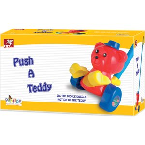Toy Kraft Push A Teddy