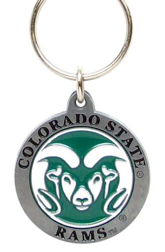College Team Logo Key Ring - Colorado State Rams